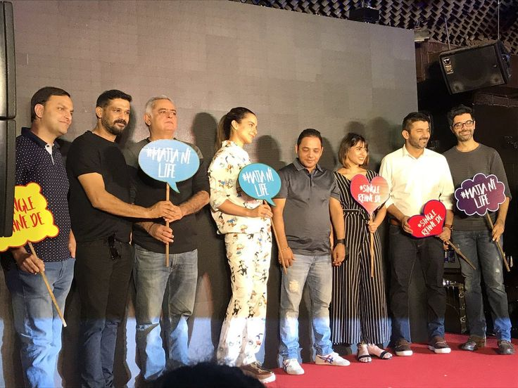 Kangana Ranaut looks uber cool at the song launch Single Rehne De from Simran