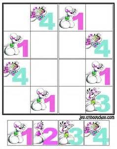 sudoku suivant sudoku pour enfant grille sudoku diddl n 4