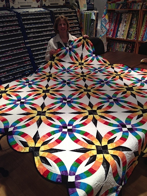Wedding Rings Pattern Quilts Star Quilt Patterns Quilt