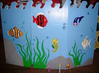 Fish ponds carnivals and ponds on pinterest for Fish pond game