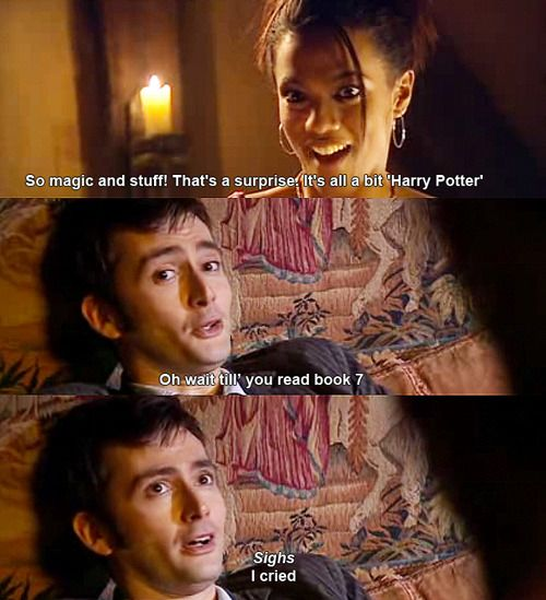 In Britain, everyone loves Harry Potter, even the aliens love Harry Potter.