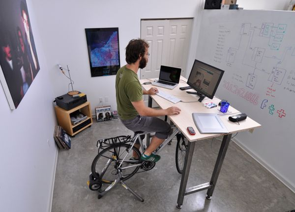 Cycle Desks Like Treadmill And Stand Up Reflect A Change In How