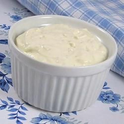 Bill's Blue Cheese Dressing  Original recipe makes 2 1/2 cups  3/4 cup sour cream  1 1/3 cups mayonnaise  1 teaspoon Worcestershire sauce  1/2 teaspoon dry mustard  1/2 teaspoon garlic powder  1/2 teaspoon salt  1/2 teaspoon ground black pepper  4 ounces blue cheese, crumbled