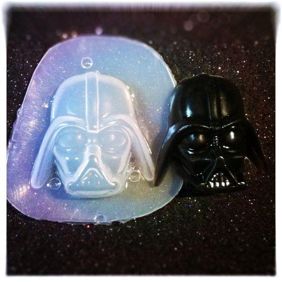Resin Flexible Plastic Mold Darth Vader 39mm x by KAPCREATIONS, $7.00