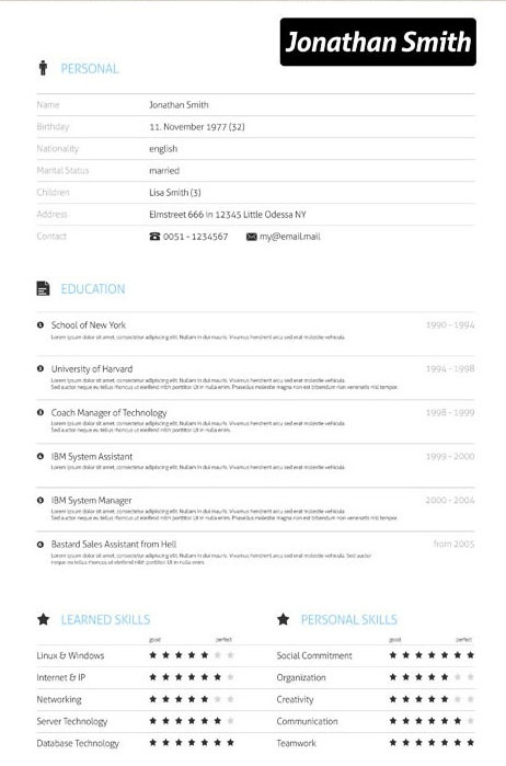 7 best Resume Ideas images on Pinterest Resume ideas, Cv design - resume with accent