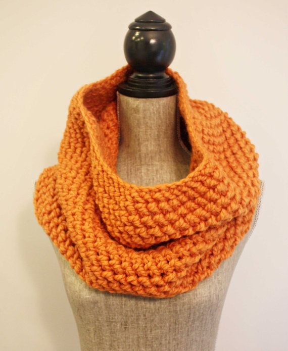 the Joy cowl / apricot by freedom knits to support the work of @joy_smith_fdn
