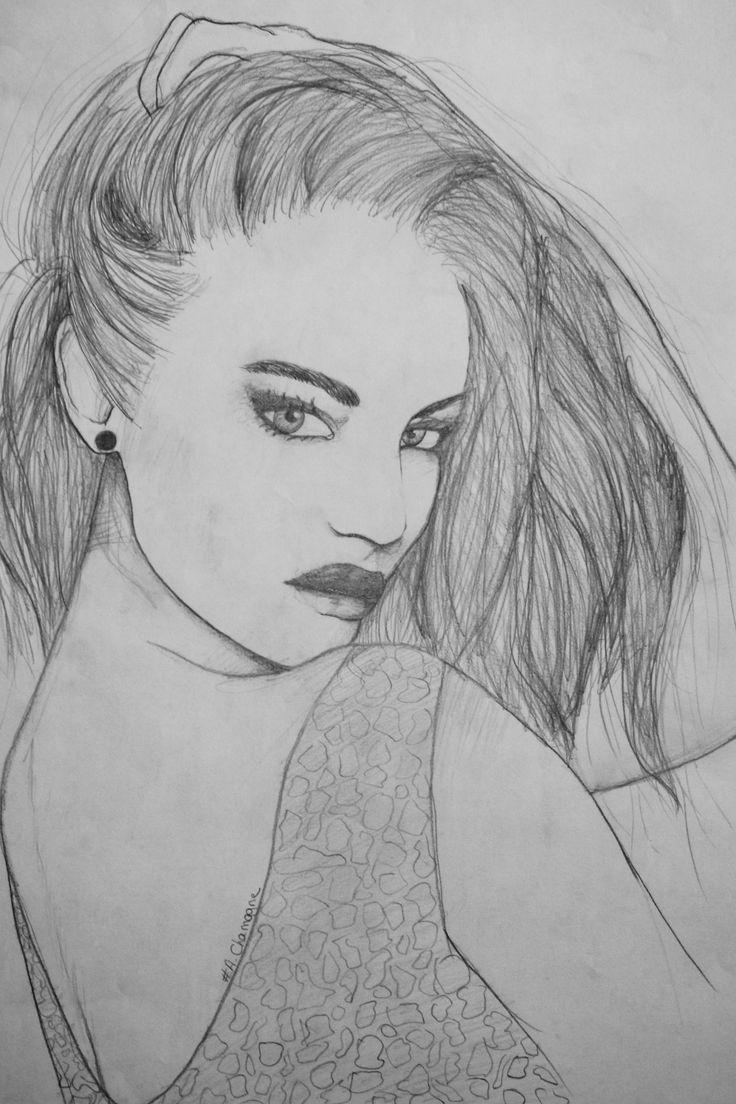 Passion Of Drawing dessins femme visages achamagne