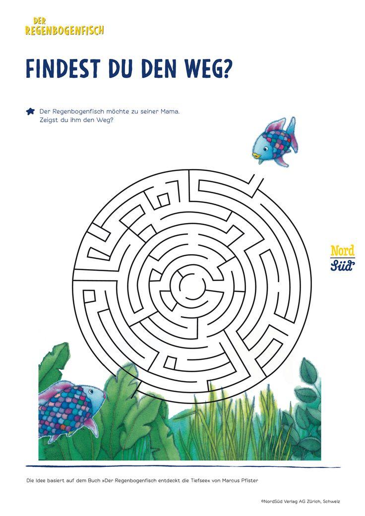 rbflabyrinth 2'480×3'508 pixel  regenbogenfisch