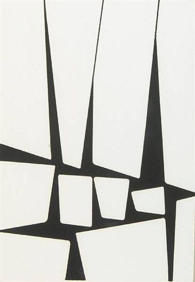 Karl Benjamin, Untitled, 1956