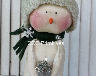 Primitive Santa Old Santa Santa Handcrafted di CCCPrimitives