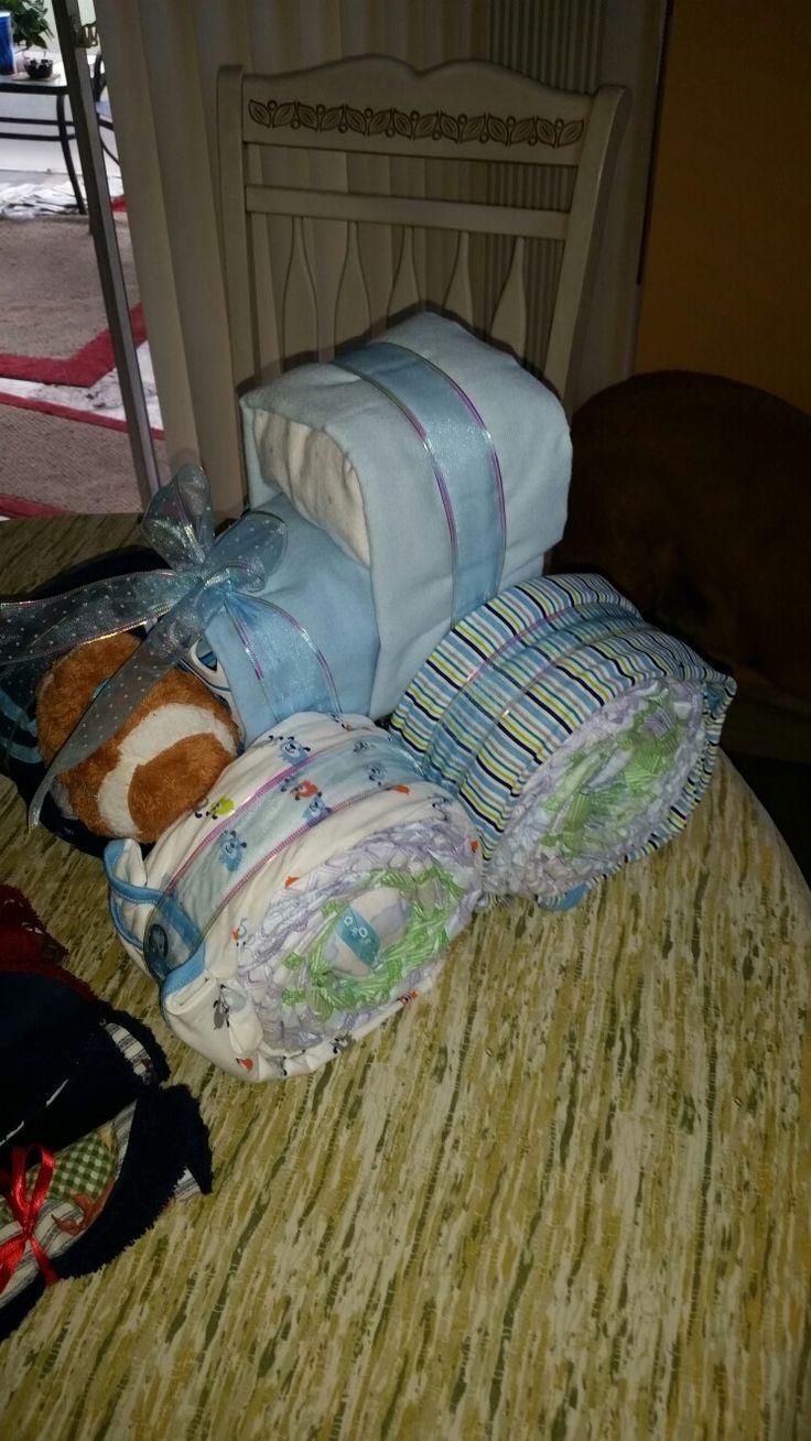 Diaper truck by Debbie Aiken