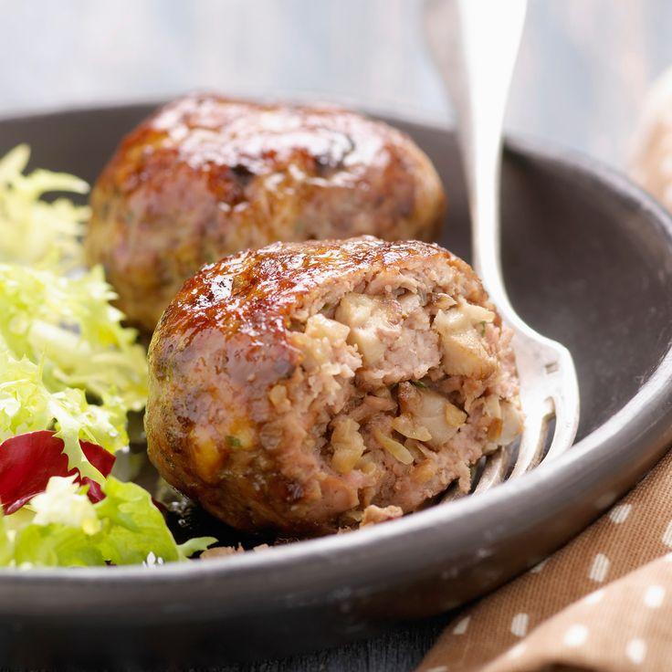 Découvrez la recette Boulettes d'agneau haché sur cuisineactuelle.fr.
