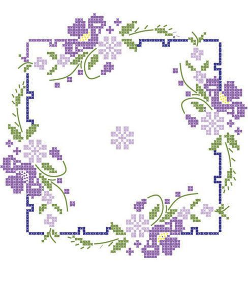 FAIRWAY-Stamped Quilt Blocks. Finish off the stamped design of these quilt blocks for a beautiful quilt you will be proud of. Blocks are constructed of cotton and polyester create resistant material a