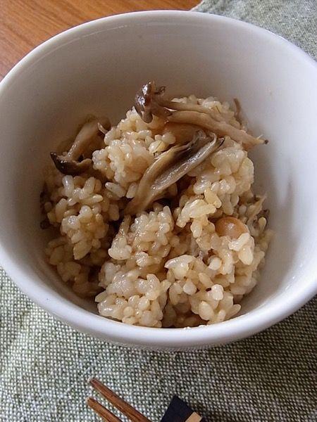 大豆とキノコの玄米炊き込みご飯 by 青木美加 | レシピサイト「Nadia ...