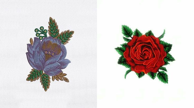 Absolutely stunning Flowers embroidery designs! Great for your Aprons, Handkerchief and many more items. Which one is looking more stunning? Comment below!