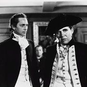 Still of Charles Laughton and Franchot Tone in Mutiny on the Bounty (1935)