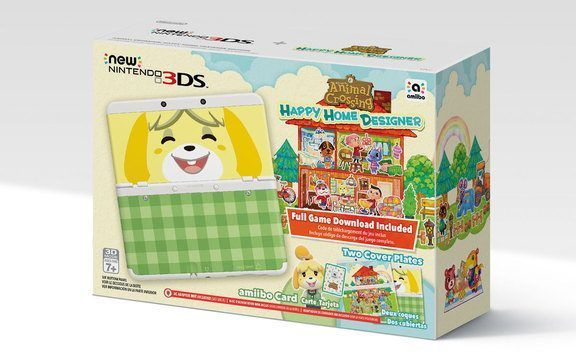 Nintendo is releasing a bundle for a New Nintendo 3DS system the same day Happy Home Designer comes out. When buying the game itself, it also comes with an NFC