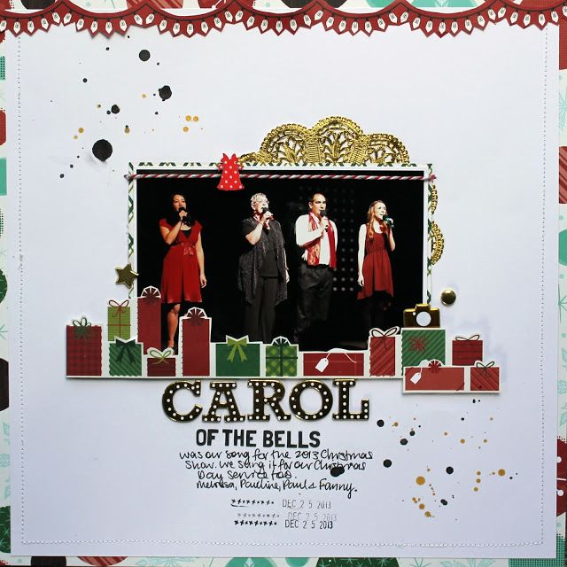 Carol of the Bells (Artfull Crafts)