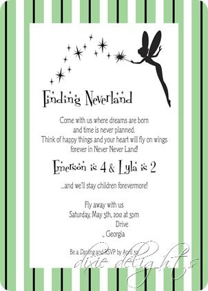 """""""Finding Neverland""""-what an awesome theme for a party"""