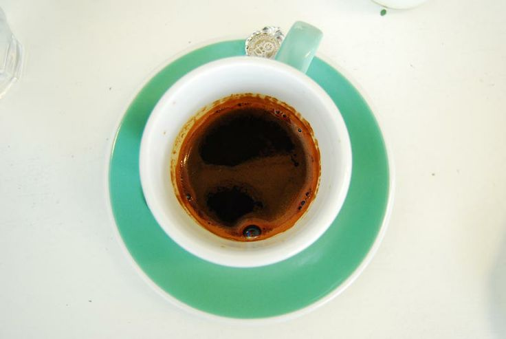 Long Black, Cafe' Little and Friday, Auckland New Zealand.