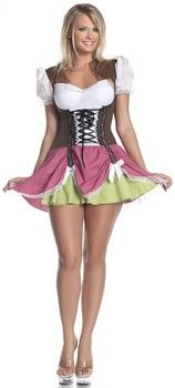 Swiss Girl Plus Size Costume (more details at Adults-Halloween-Costume.com #oktoberfest #halloween #costumes