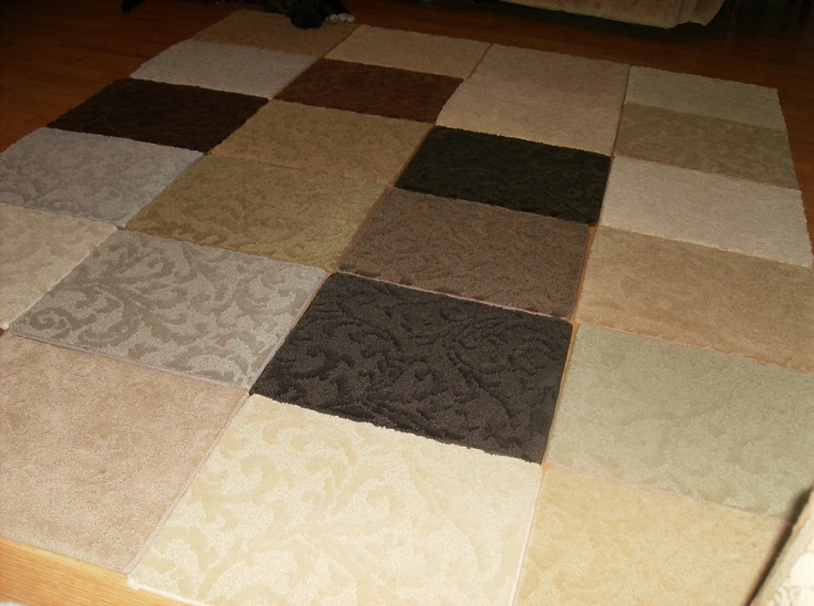 1000 ideas about carpet samples on pinterest area rugs for Can you put an area rug on carpet