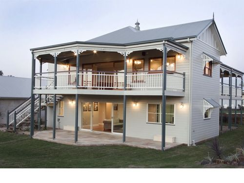 Georgina Traditional Queenslander style home by Garth Chapman