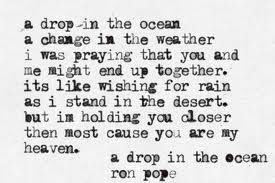 Ron Pope | A Drop In the Ocean
