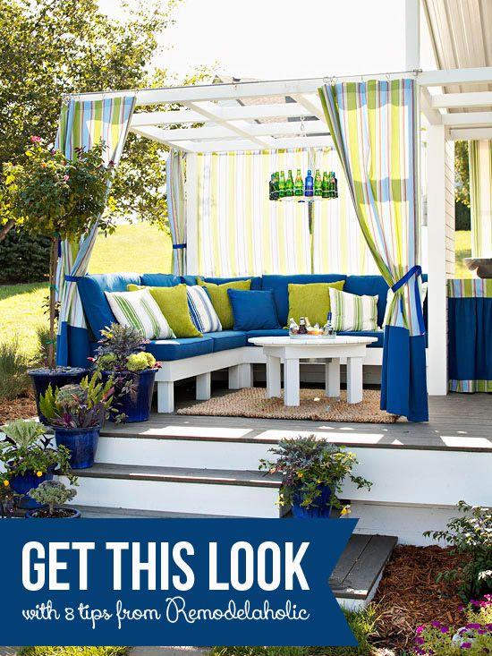 Cozy outdoor spaces