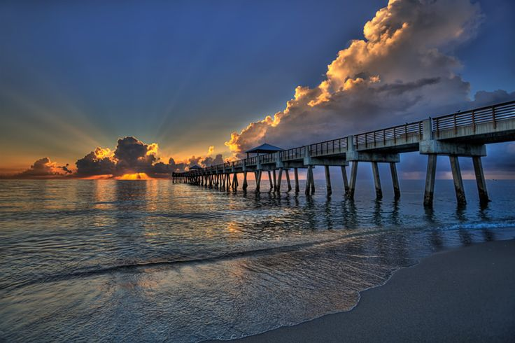 Juno Beach Pier near West Palm Beach, Fl, traveled there three times and it never ceases to amaze me...