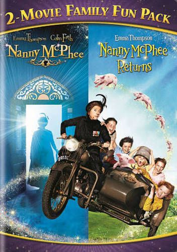 Nanny McPhee 2-Movie Family Fun Pack New DVD