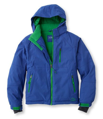 boys glacier summit waterproof jacket jackets and parkas free shipping at llbean