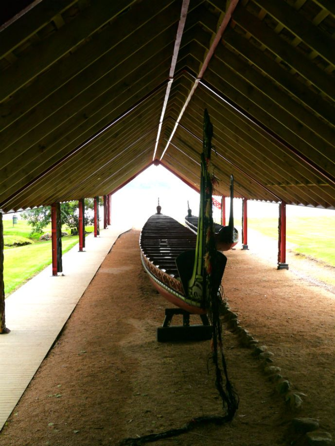 Ceremonial War Canoe, Waitangi Treaty Grounds - Travel Guide to Bay of Islands - The Trusted Traveller