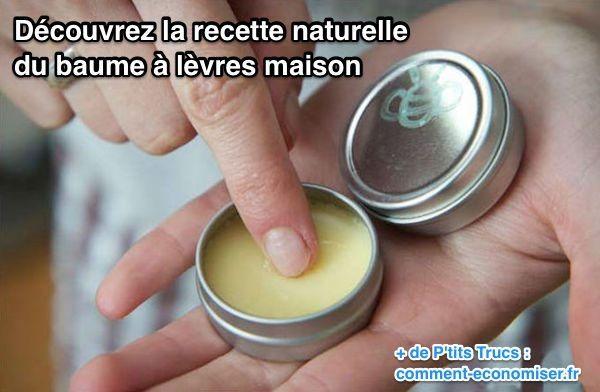 Vous cherchez un remède naturel pour bichonner vos lèvres ? Sans produits toxiques ? Heureusement, il existe un petit truc de grand-mère pour fabriquer un baume à lèvres maison et naturel. Ce remède est à base de cire d'abeille, d'huile de coco et de miel.   Découvrez l'astuce ici : http://www.comment-economiser.fr/recette-naturelle-baume-a-levres.html?utm_content=bufferdbba9&utm_medium=social&utm_source=pinterest.com&utm_campaign=buffer