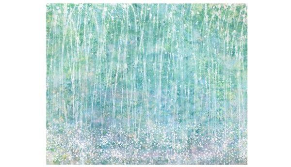 """Des peintures remarquables réalisées par une petite fille autiste de 3 ans - Medisite : """"Battement de coeur"""""""