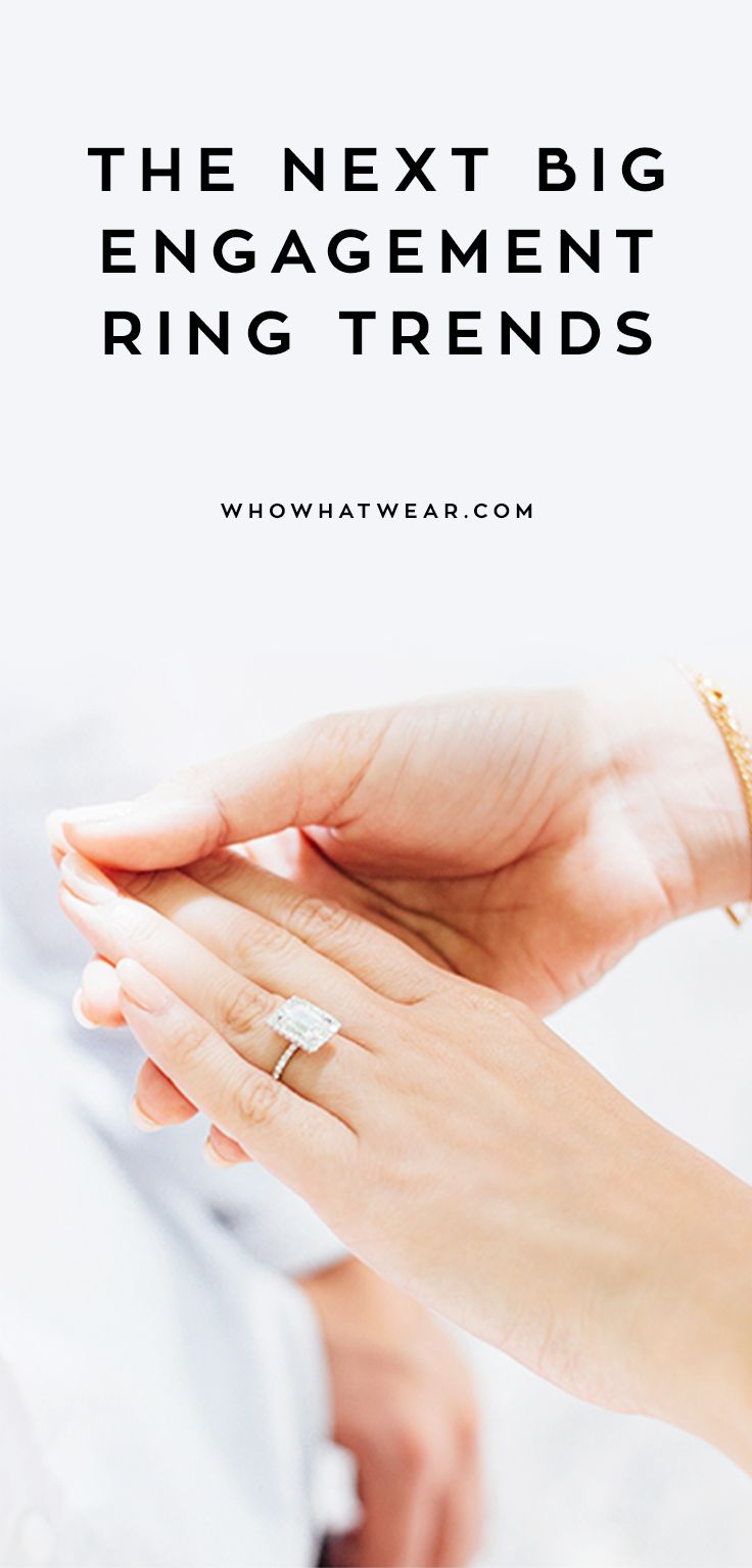 Every soon bride-to-be should know about these engagement ring trends.