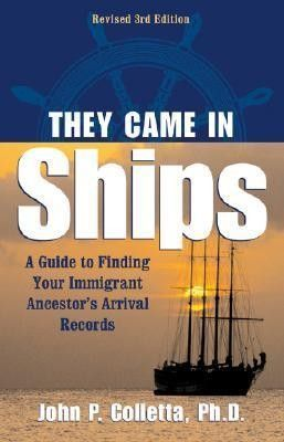 They Came in Ships: Chances are excellent that your ancestors came to America from somewhere-England, Spain, Germany, China, Africa. Can you imagine how they felt as they left their homes, what they left behind? Do you want to know? Would you know where to even start looking for the details? You will not only learn what fundamental facts you need to know about your immigrant ancestor before beginning, but suggests where you may find that information as well.