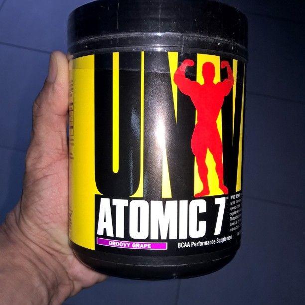 Além da leucina isoleucina e valina o ATOMIC 7 é composto ainda por taurina quelada peptídeos de glutamina e contém ainda a vitamina B6 importante para maximizar a absorção dos componentes de sua fórmula. BCAA para pré treinos e longos. Rápida recuperação muscular. APENAS R$ 20550 reais. Aqui vc pode mais!!! #atomic7 #universalnutrition #bodybuilding #wellness #mensphysique #mulheresquetreinam #suplementomaceio #sncthesquare by sncthesquare
