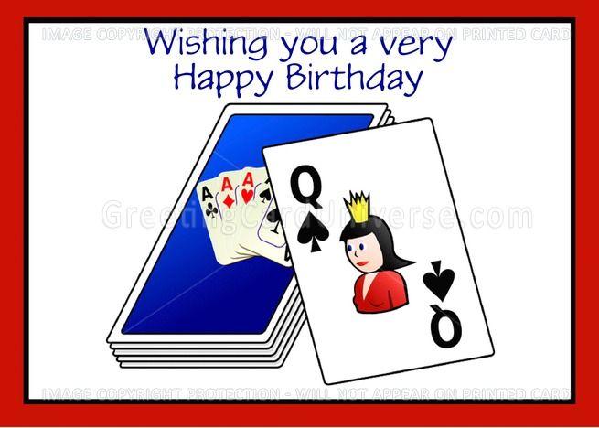 Happy Birthday Bridge Card Game Playing Cards Ad Affiliate Bridge Birthday Happy Card Bridge Card Bridge Card Game Birthday Cards