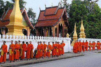 Luang Prabang, Laos - Very excited for our SE Asia adventures!