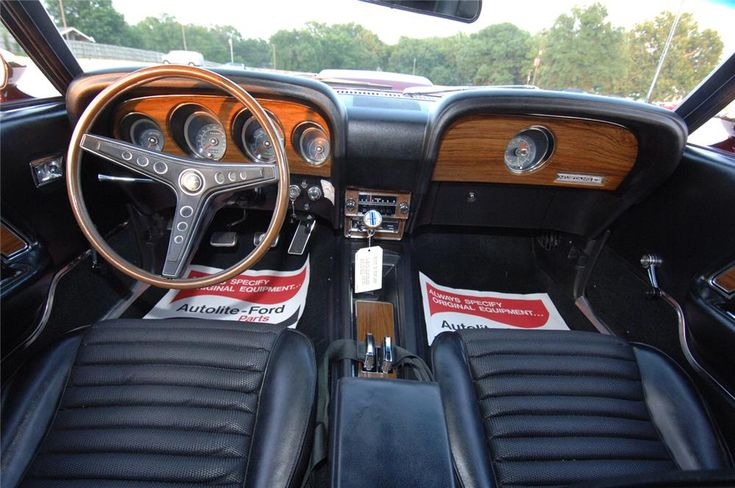 interiors ford and ford mustang boss on pinterest - 1969 Ford Mustang Interior