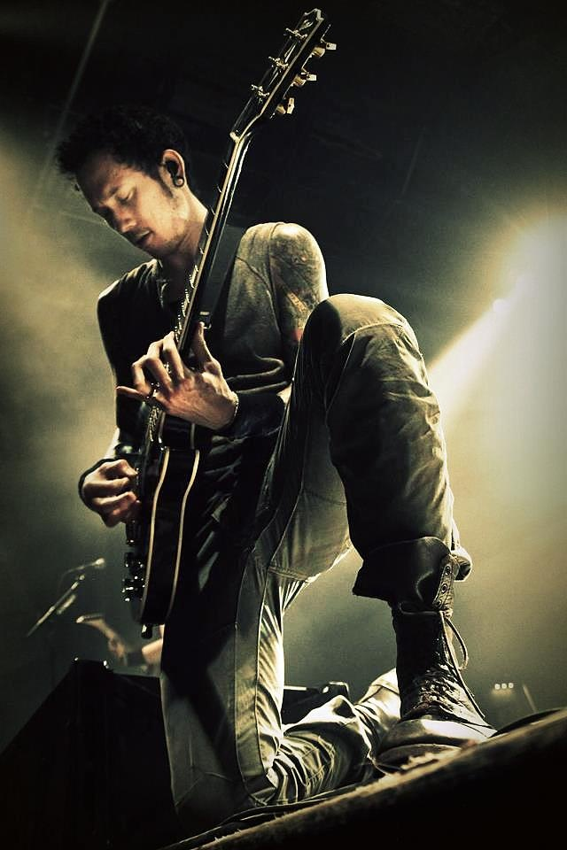 Matt Heafy of Trivium, my idol!