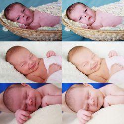 newborn skin photoshop action