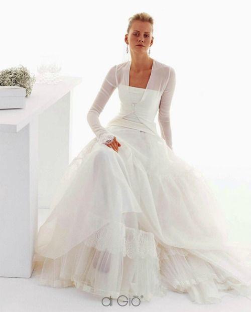 le sposa de gio bridal gowns   Collezione Invernale 2012 Le Spose di Giò. Come ripararsi dal freddo ...