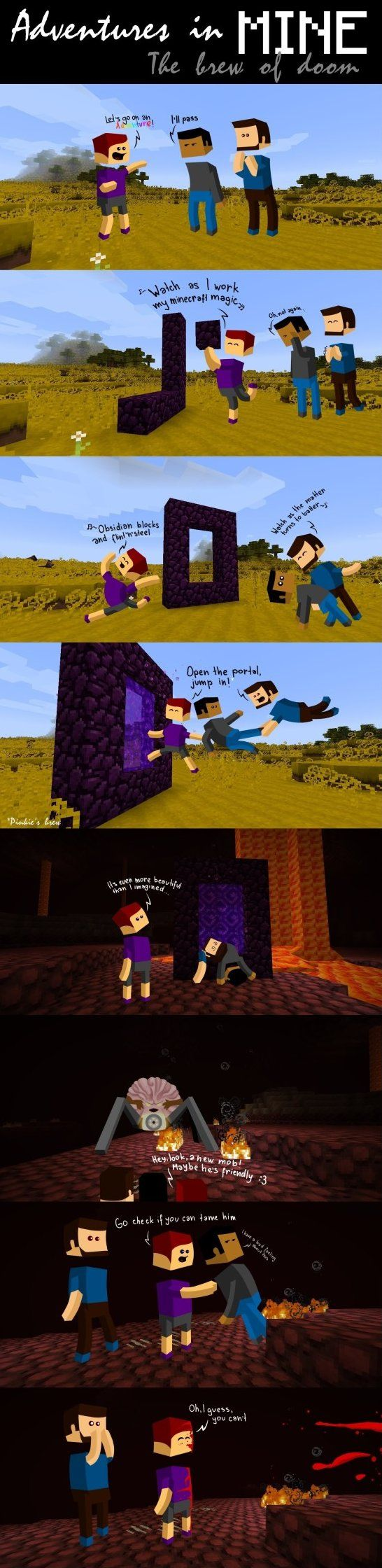 Minecraft - www.meme-lol.com