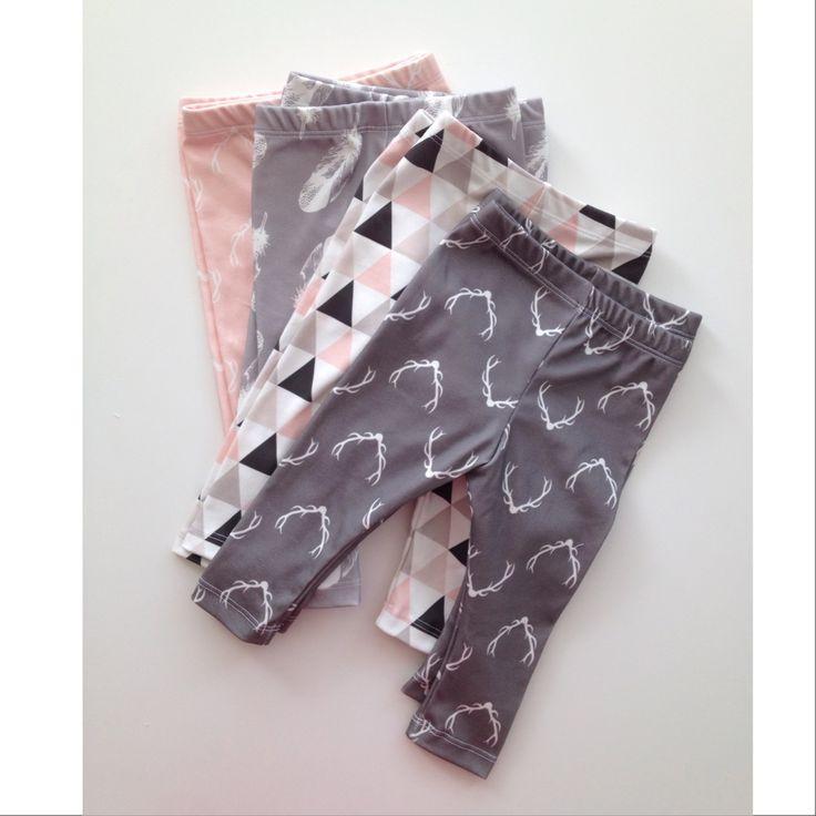Baby Style | VONBON Organic Cotton Leggings | Sizes 0-3M to 4T | www.vonbon.ca