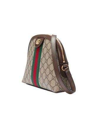 f1e061522432 Gucci Bolso De Hombro Ophidia GG Pequeño in 2019   GUCCI   Small shoulder  bag, Bags, Canvas shoulder bag