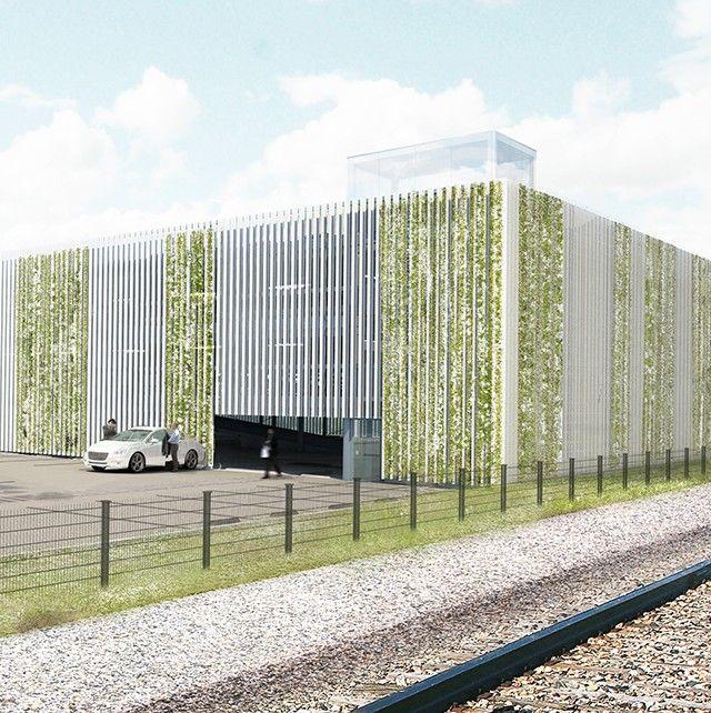 Architectonisch ontwerp parkeergarage voor 330 parkeerplaatsen; i.o.v. Ballast Nedam. Winnend tenderontwerp (2014) realisatie (2016)