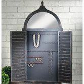 Found it at Joss & Main - Shutter Wall Mounted Jewelry Armoire with Mirror