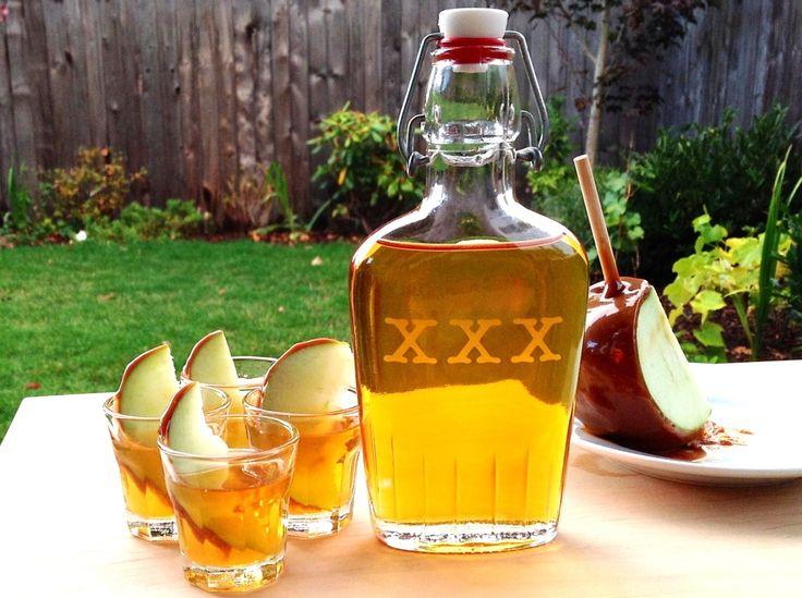 Caramel Apple infused vodka